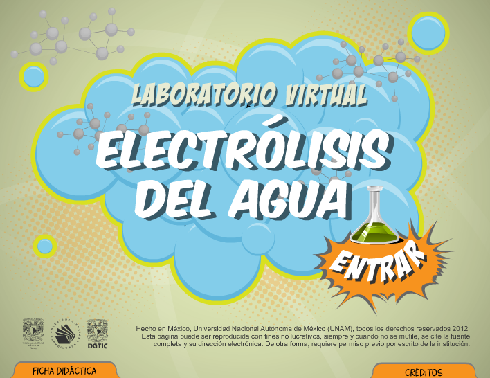 laboratorio virtual electrolisis